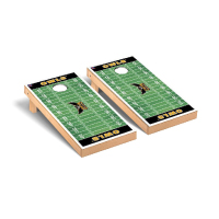 Image For Victory Tailgate Football Field Cornhole