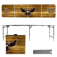 Image For Victory Tailgate Portable Weathered Owl Table (8')