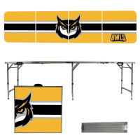 Image For Victory Tailgate Portable Striped Owl Table (8')