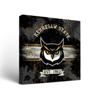 Image For Victory Tailgate Owl Face Banner Wall Art (24x24)