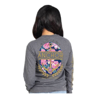 Image For Simply Southern Anchor Long Sleeve Tee