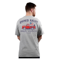 Image For Simply Southern Raised Right Tee