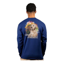 Image For Simply Southern Yellow Lab Long Sleeve Tee