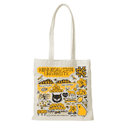 Image For Julia Gash Canvas Kennesaw Tote