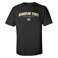 Image For MV Sport Kennesaw State Owl Face Tee