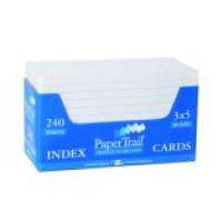 Cover Image For 3x5 Ruled Index Cards