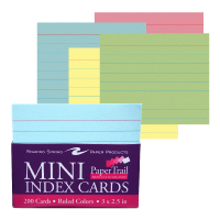 "Cover Image For 3x2.5"" Mini Index Cards"