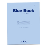 Image For Blue Book  Exam. Large
