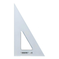 "Image For Alvin 6"" Transparent Triangle  30°/60°"