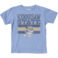 Image For Blue 84 Disney Football Mickey Youth Tee