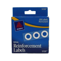 Image For Avery Reinforcement Labels