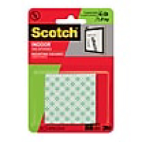 Image For 3M Mounting Squares 16CT