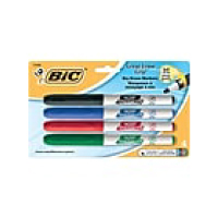 Image For Bic Dry Erase Markers 4PK