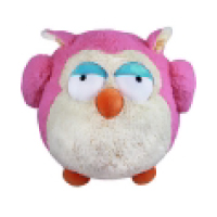 Image For Squishable Pink Owl 15""