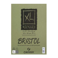 "Image For Canson XL Recycled Bristol Pad 19""x24"" 25 Sheets"