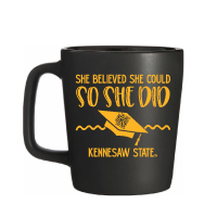 "Image For DRINKWARE: ""She Believed She Could"" Mug"
