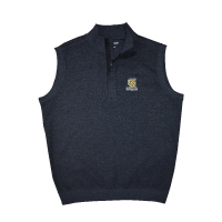 Image For 1/4 Zip Suede Lined Vest
