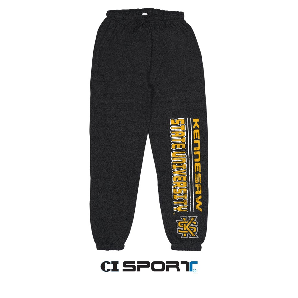 Image For CI Sport Marbled Kennesaw State Joggers