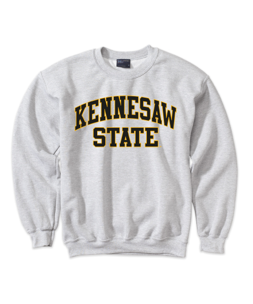 Image For Kennesaw State Two-Toned Fleece Crew(2XL)