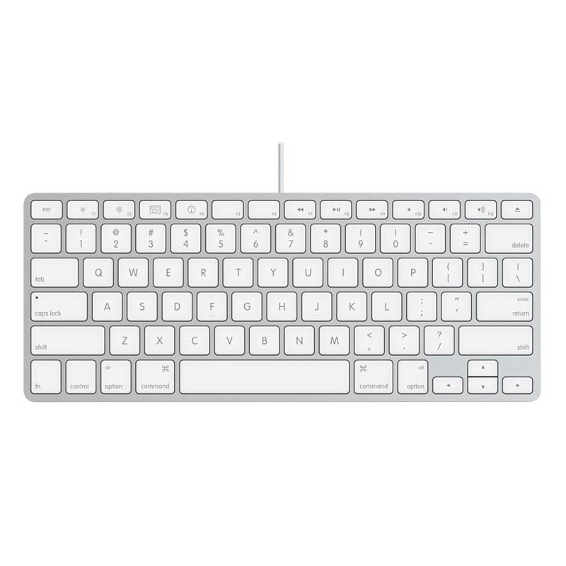 Image For Apple Wired Keyboard<br><br>