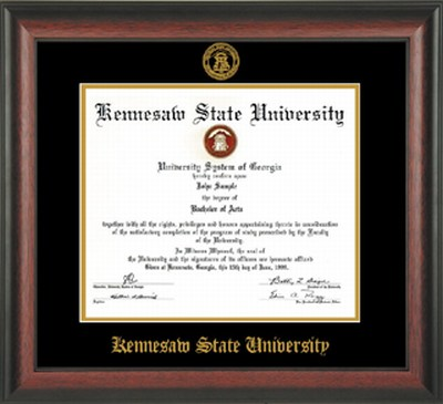 Image For Professional Diploma Frame Rosewood