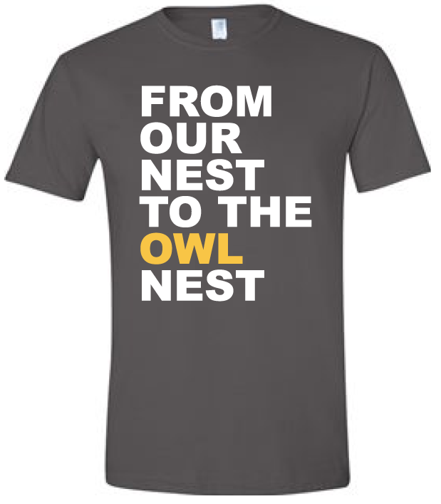Image For Our Nest to the Owl Nest Tee (2XL)