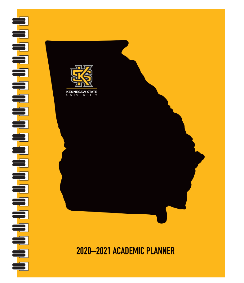 Cover Image For Academic Planner 2020-21
