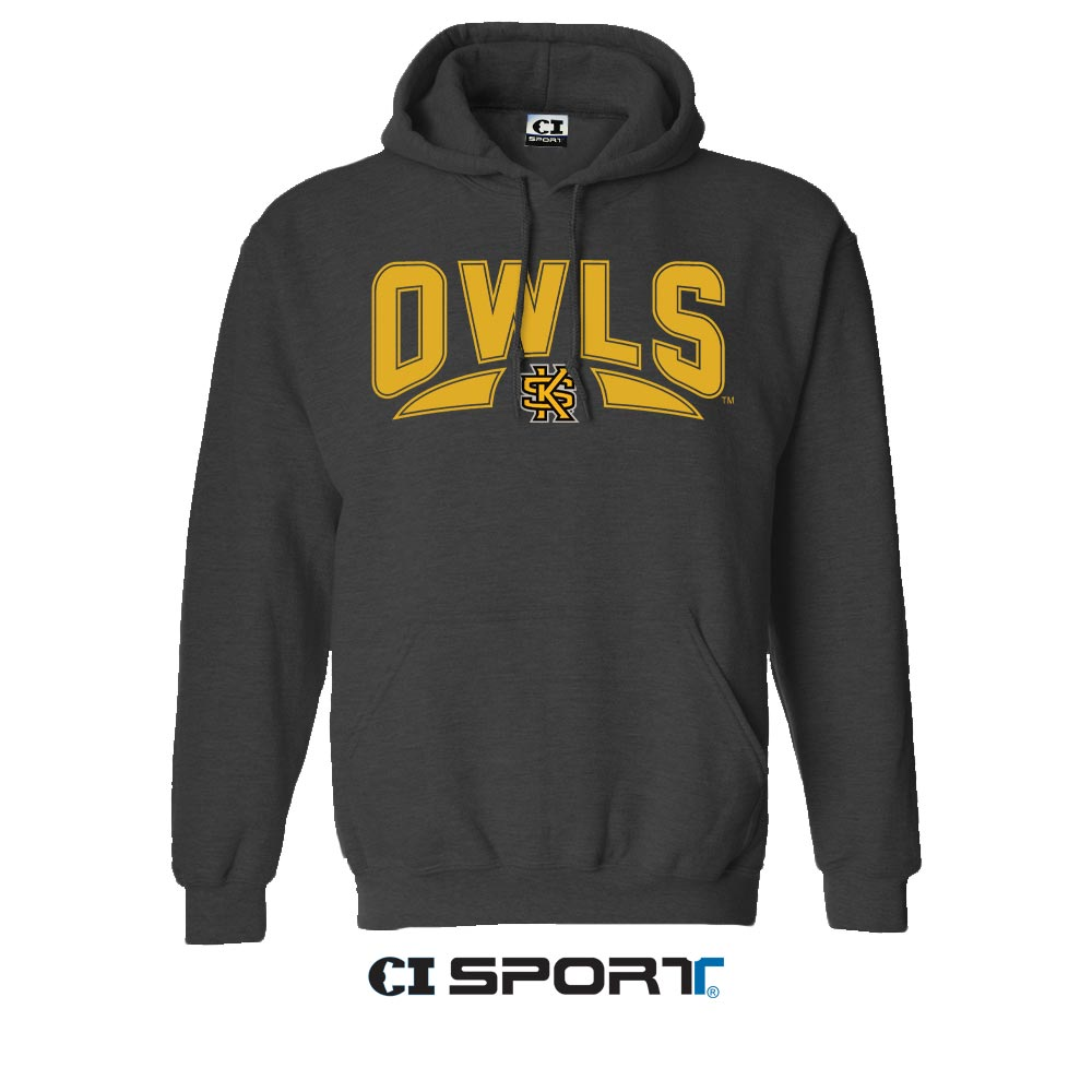 Image For CI Sport Owls Interlocking KS Hoodie