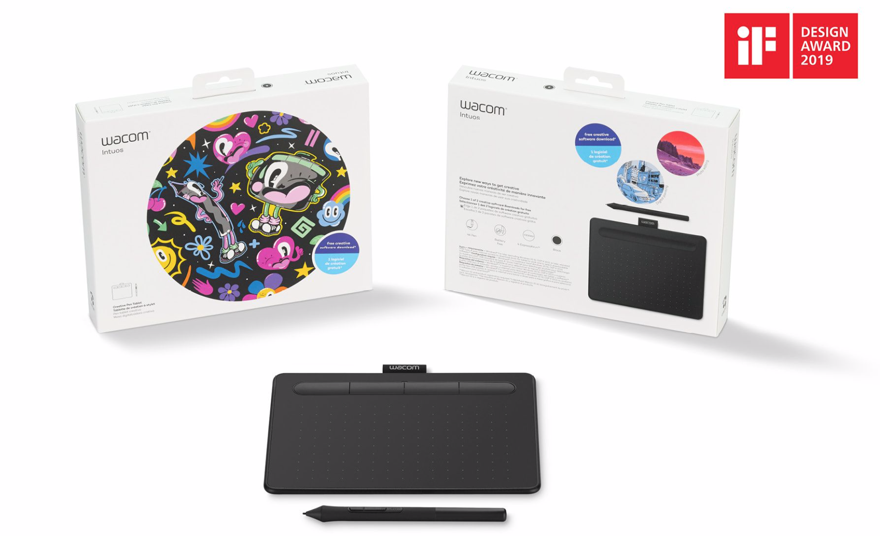 Image For Wacom Intuos Tablet and Pen