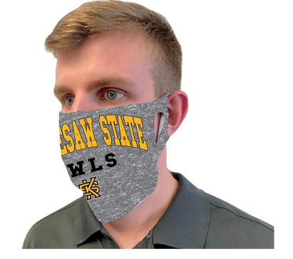 Image For Wincraft Grey Kennesaw State Face Mask