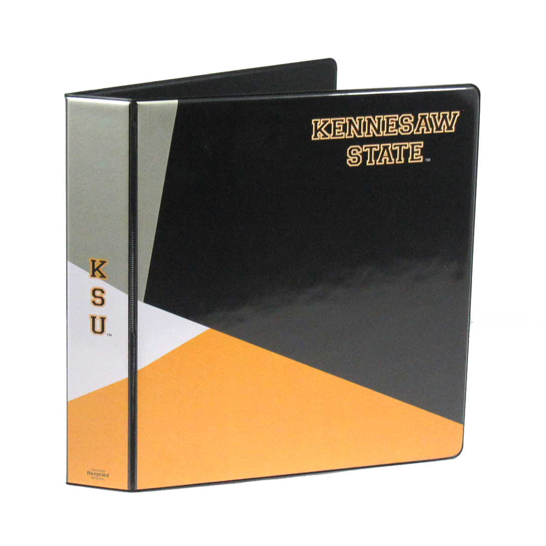 "Image For Binder 1"" KSU Geometric"