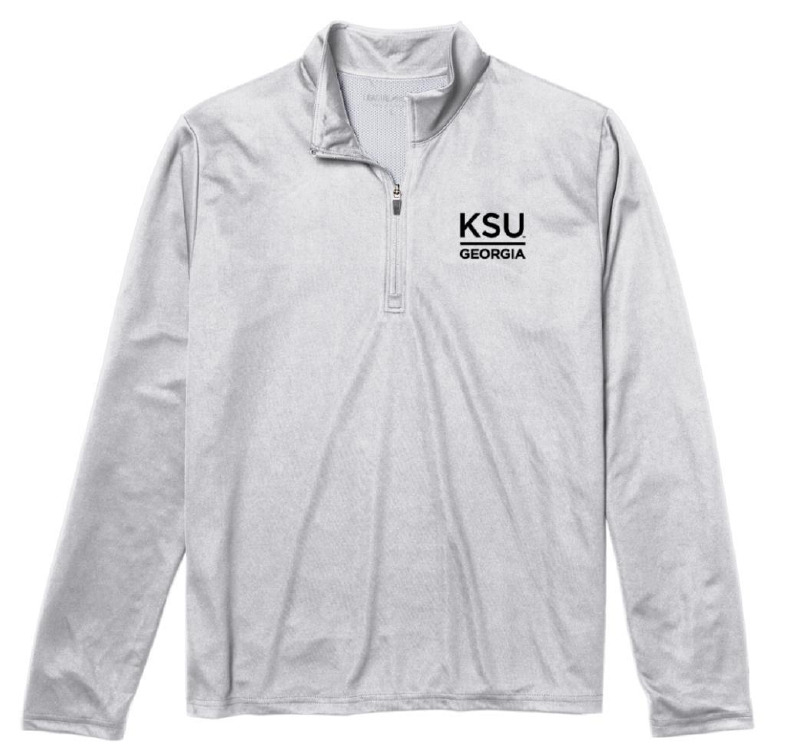 Image For League 1/4 Zip Crew KSU Georgia