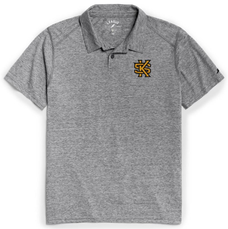 Image For League Reclaimed Interlocking KS Polo