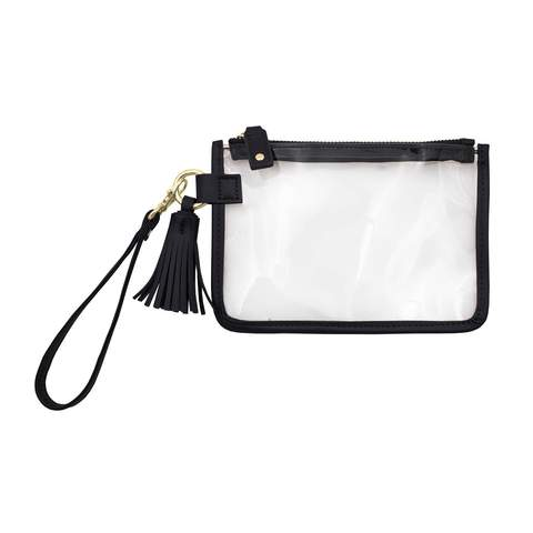 Cover Image For Capri Designs Clear Wristlet Bag