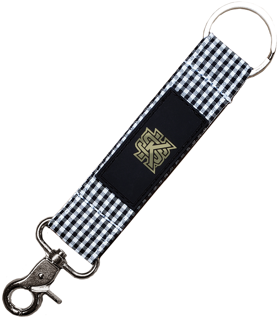 Cover Image For Spirit Gingham Keystrap