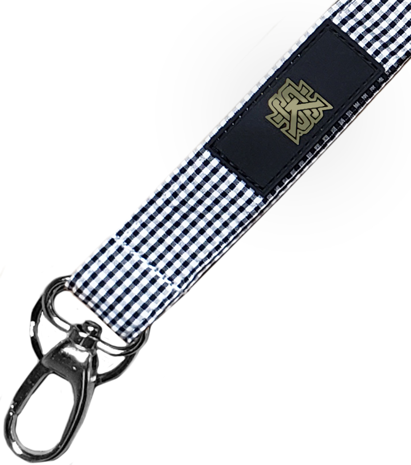 Image For Spirit Lanyard Gingham